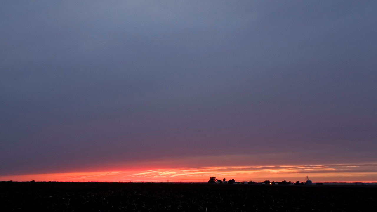 October 5 - Sunset, Macon County Illinois
