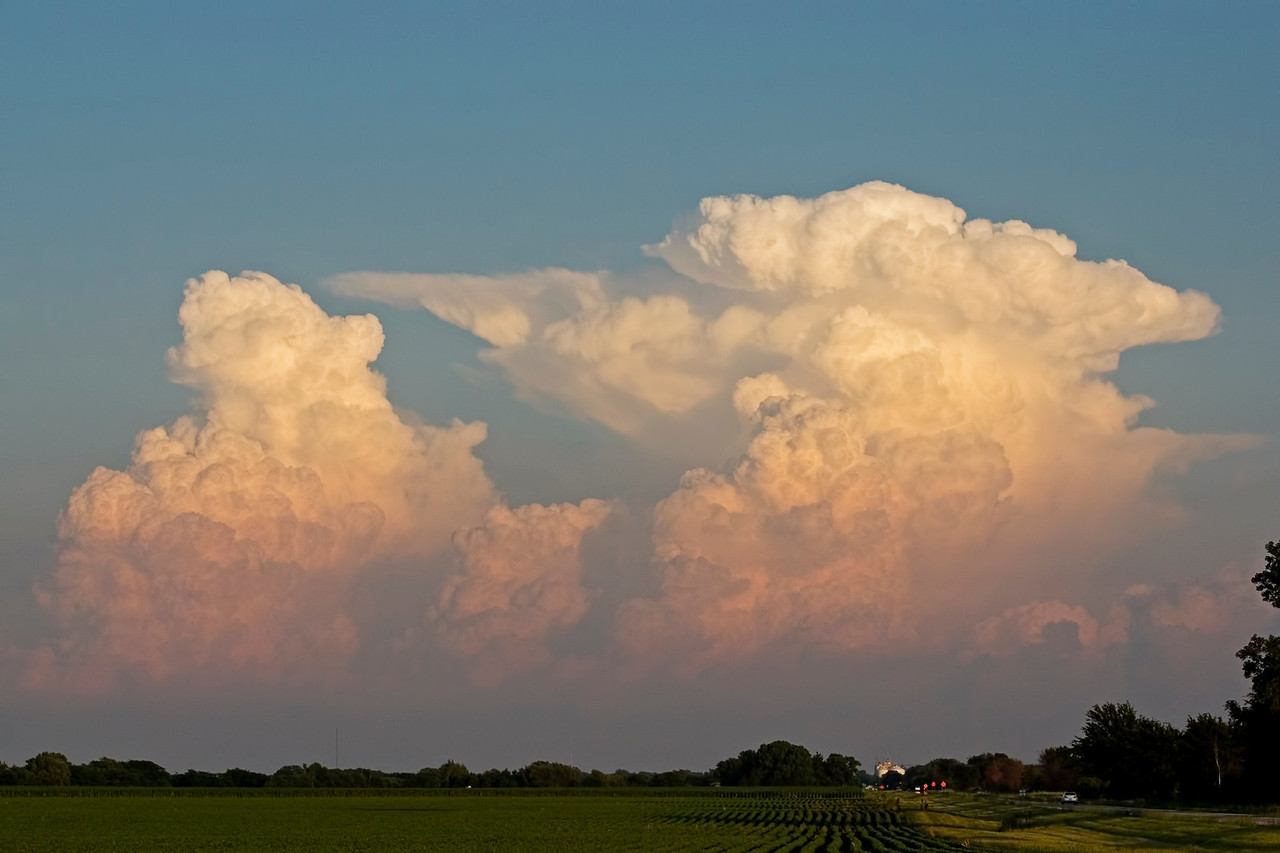 June 17 - Storm in Jasper County as seen from Moultrie County Illinois