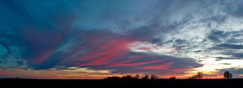 January 11 - Sunset, W Macon County IL