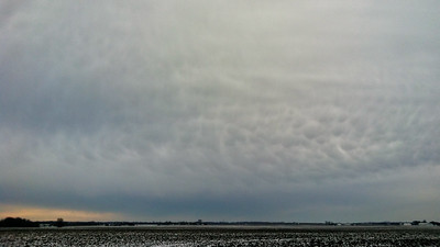 January 5 - Snow squalls with mammatus, W Macon County IL
