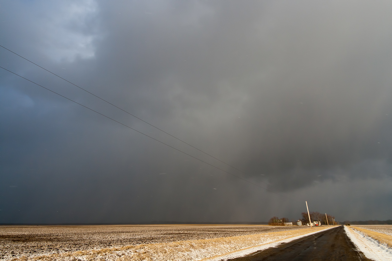 March 12th - Snow squall, Mt. Zion IL