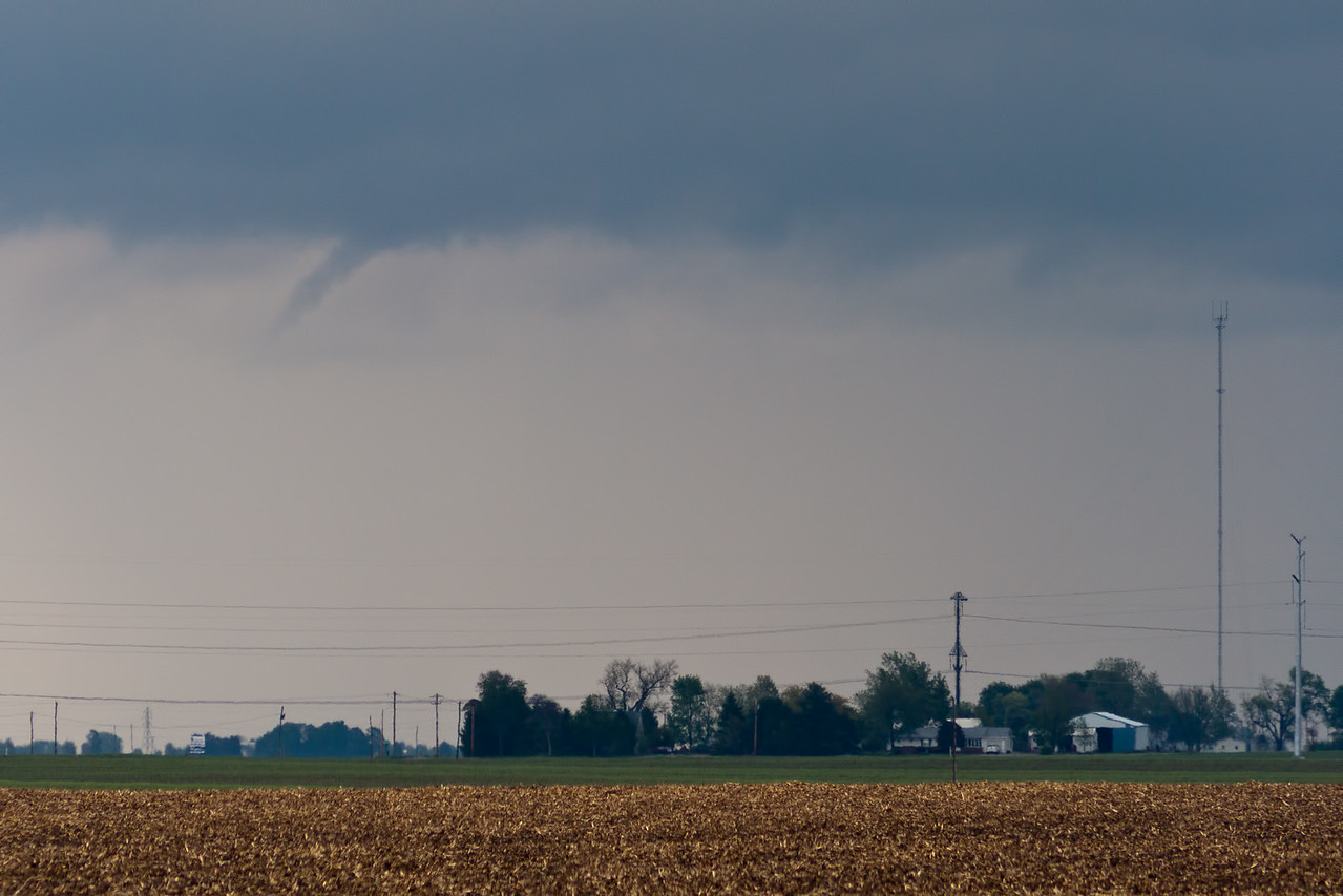 Later that day, funnel cloud, Macon County IL