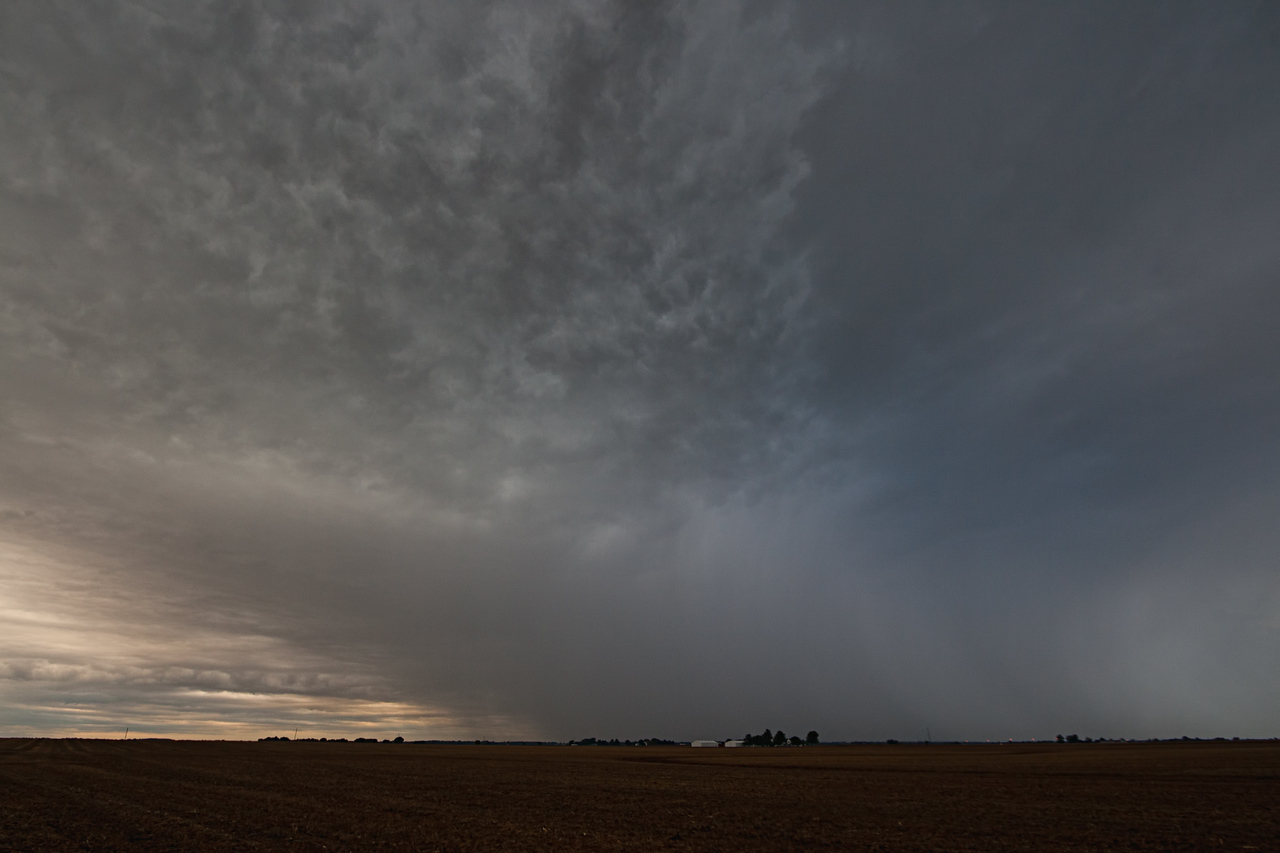 October 7th - Morning storm, W Macon County IL