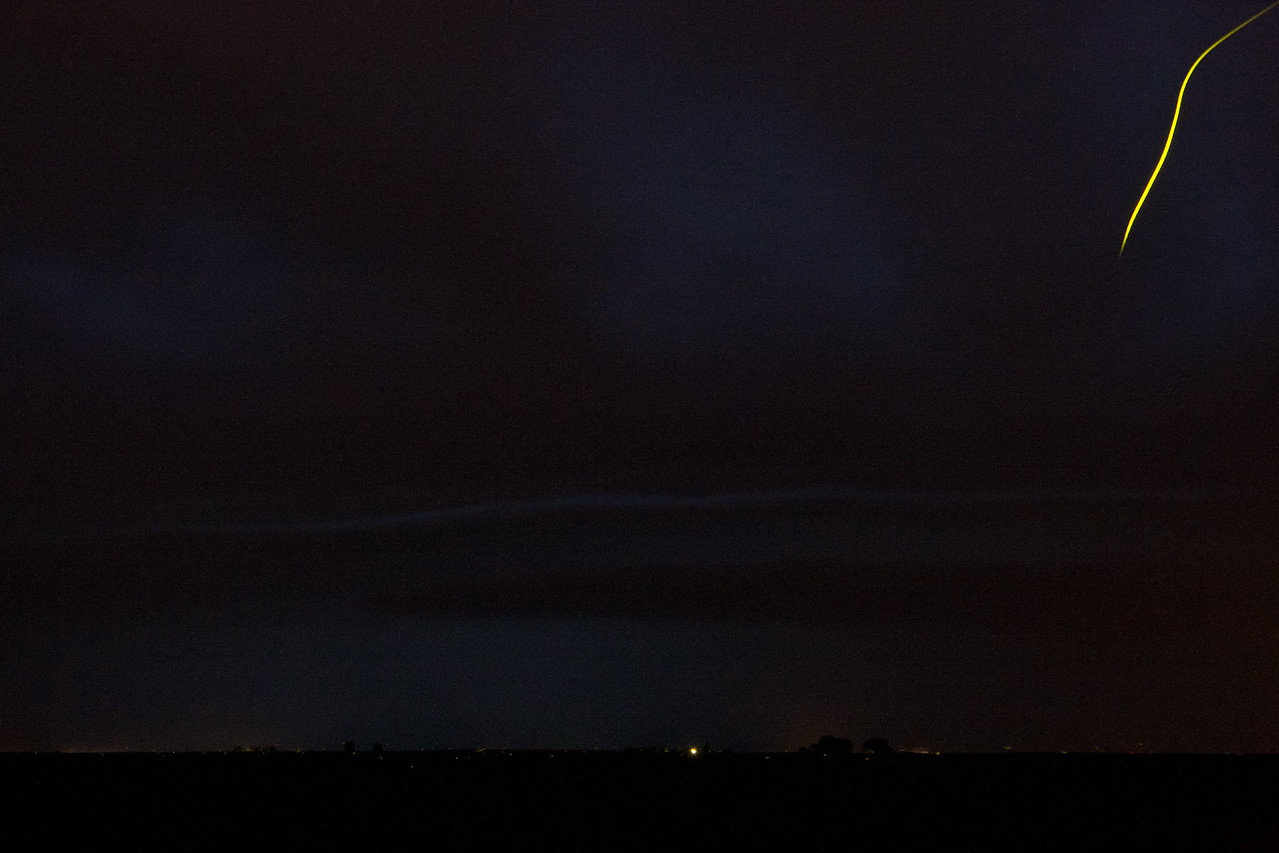 July 5th - Lightning-less shelf cloud vs. Lightning bug