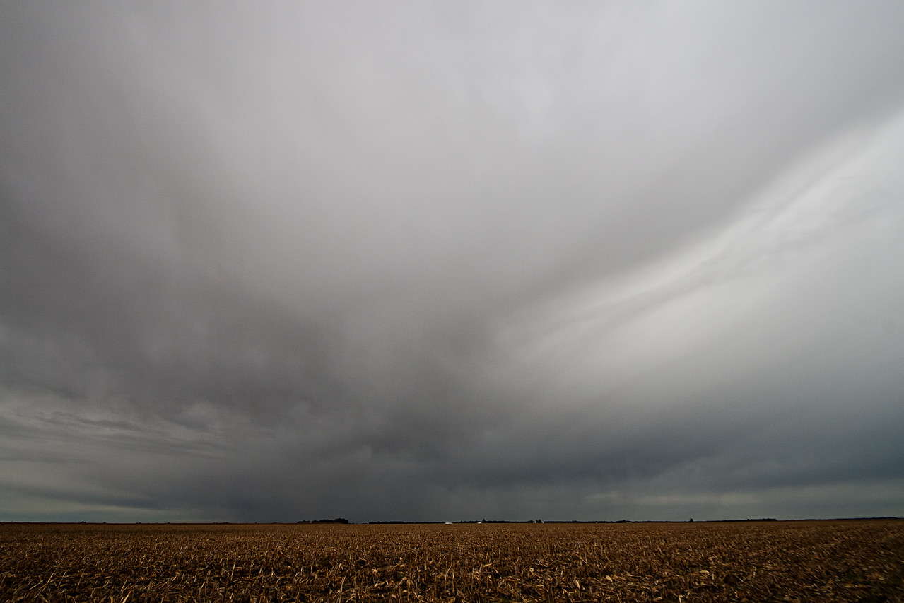 October 5th - Weak disturbance, Southern Macon County IL