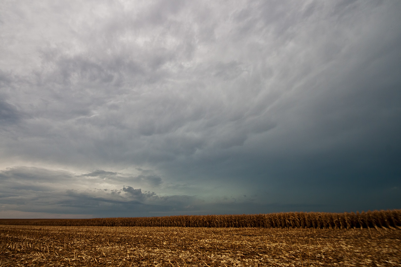 October 2nd - Strong morning storm, Christian County IL