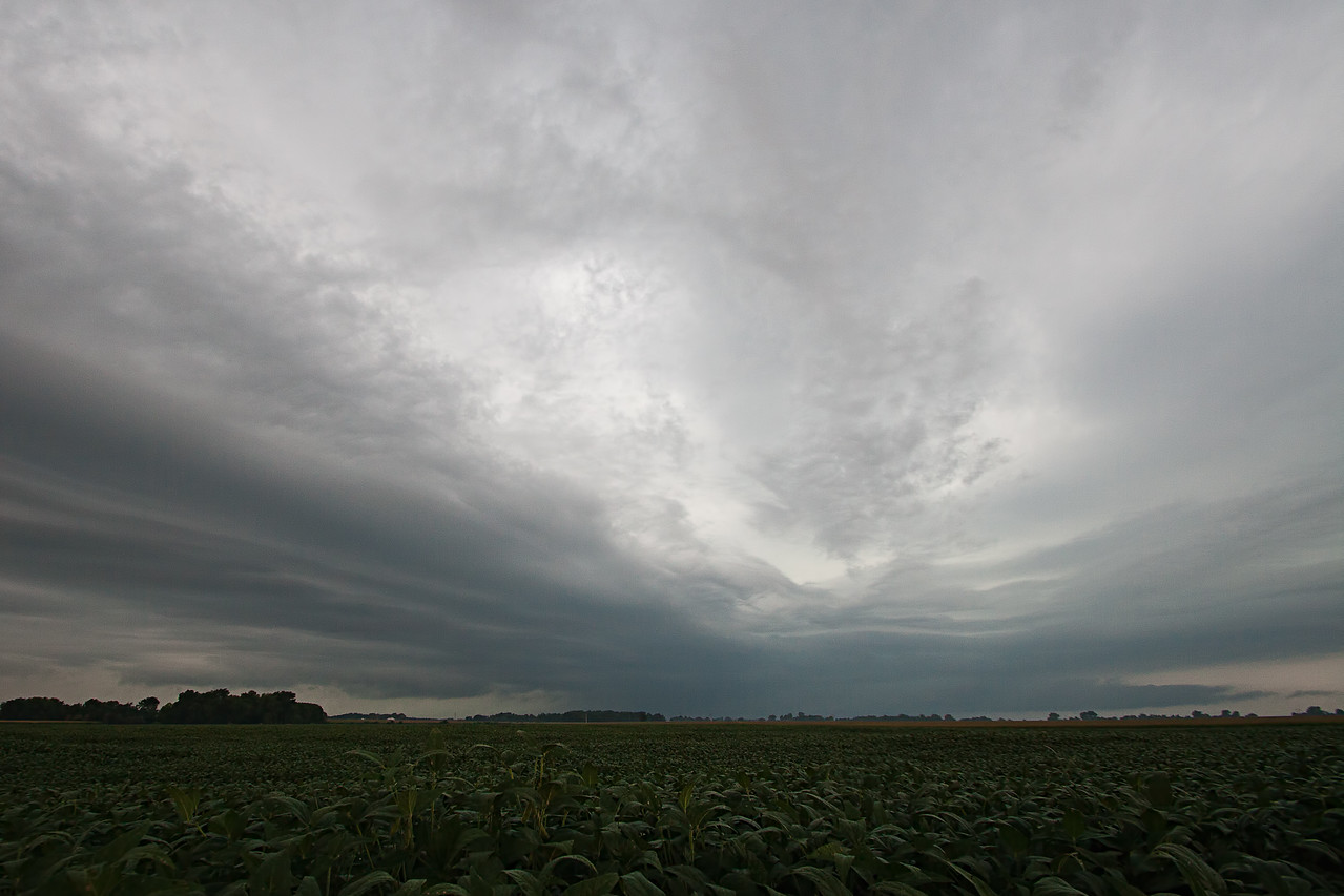 August 20th - Morning storm over Southern Macon County IL