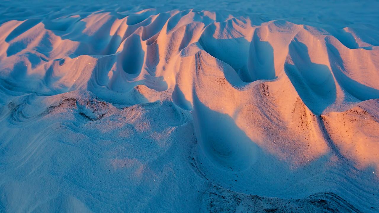 January 7th - Sunrise over the Himalayas (roadside drift).