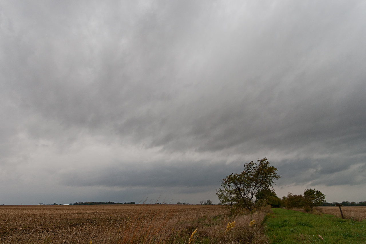 October 13th - Tornado warned storm approaching, E Macon County IL