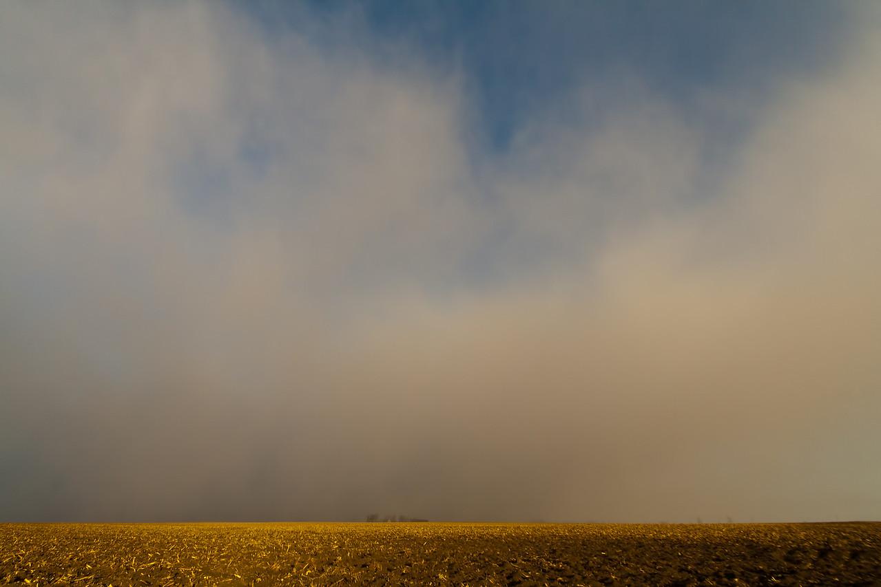 January 27th - 'Ghost Squall', snowfall that left powdery dusting yet had no radar signature.