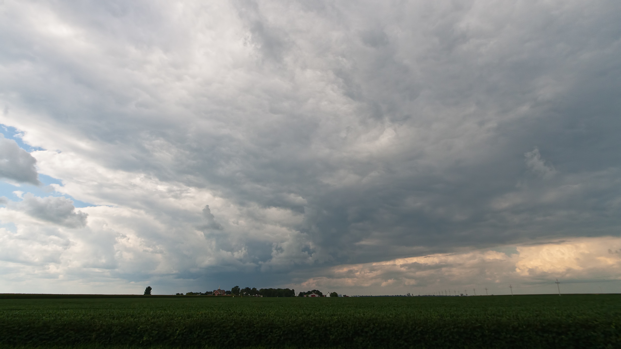August 14th - Looking for funnel clouds, Christian County IL