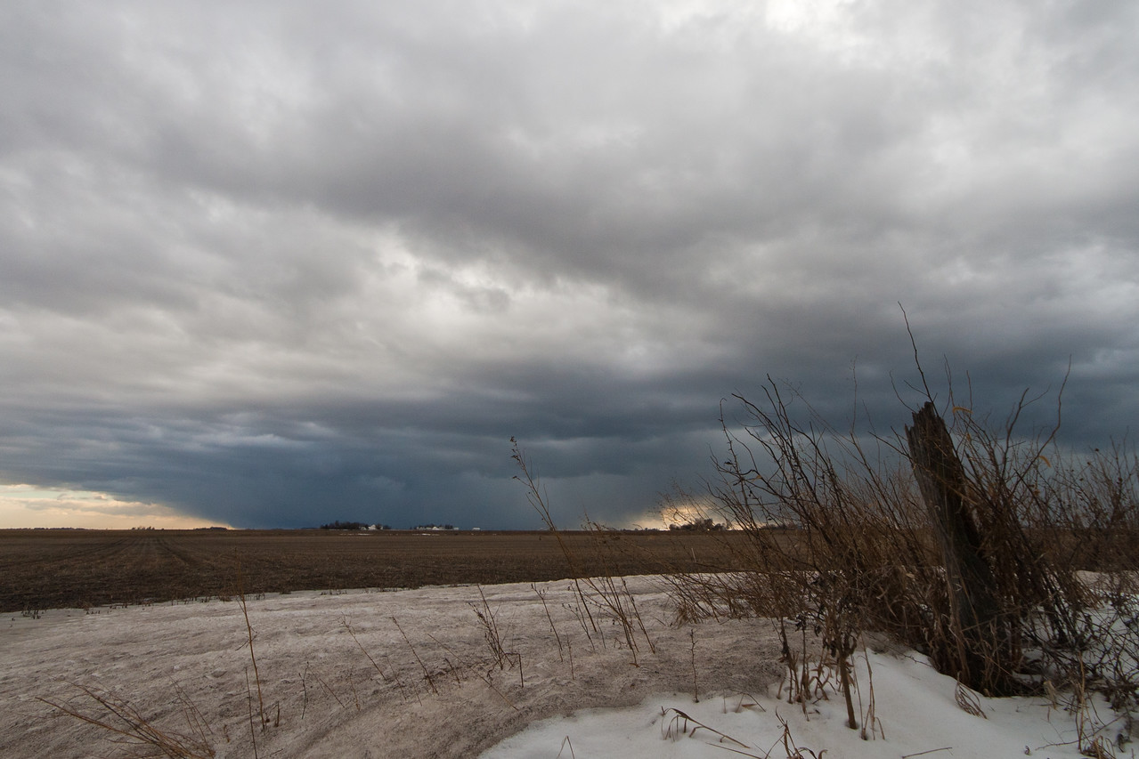 January 16th - Convective snow squall, Macon County IL
