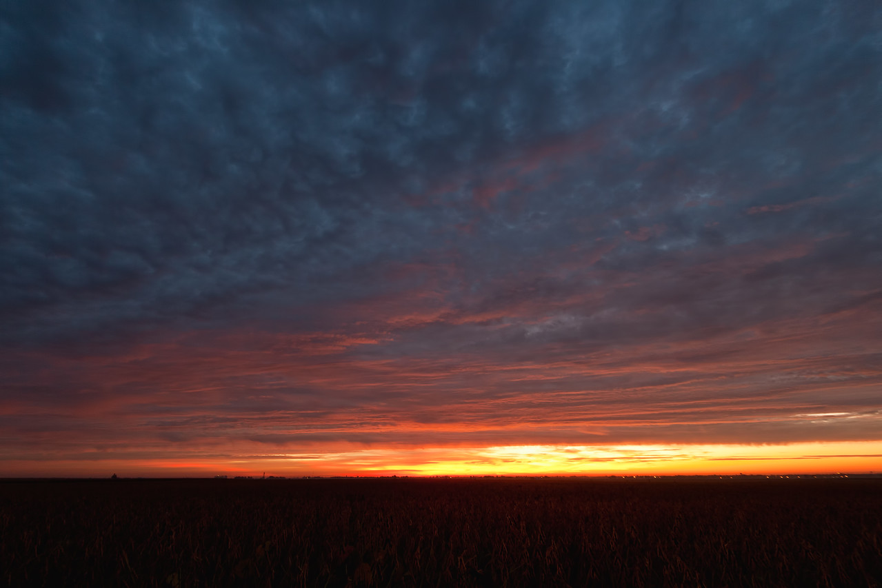 September 25th - Sunrise from N Macon County IL
