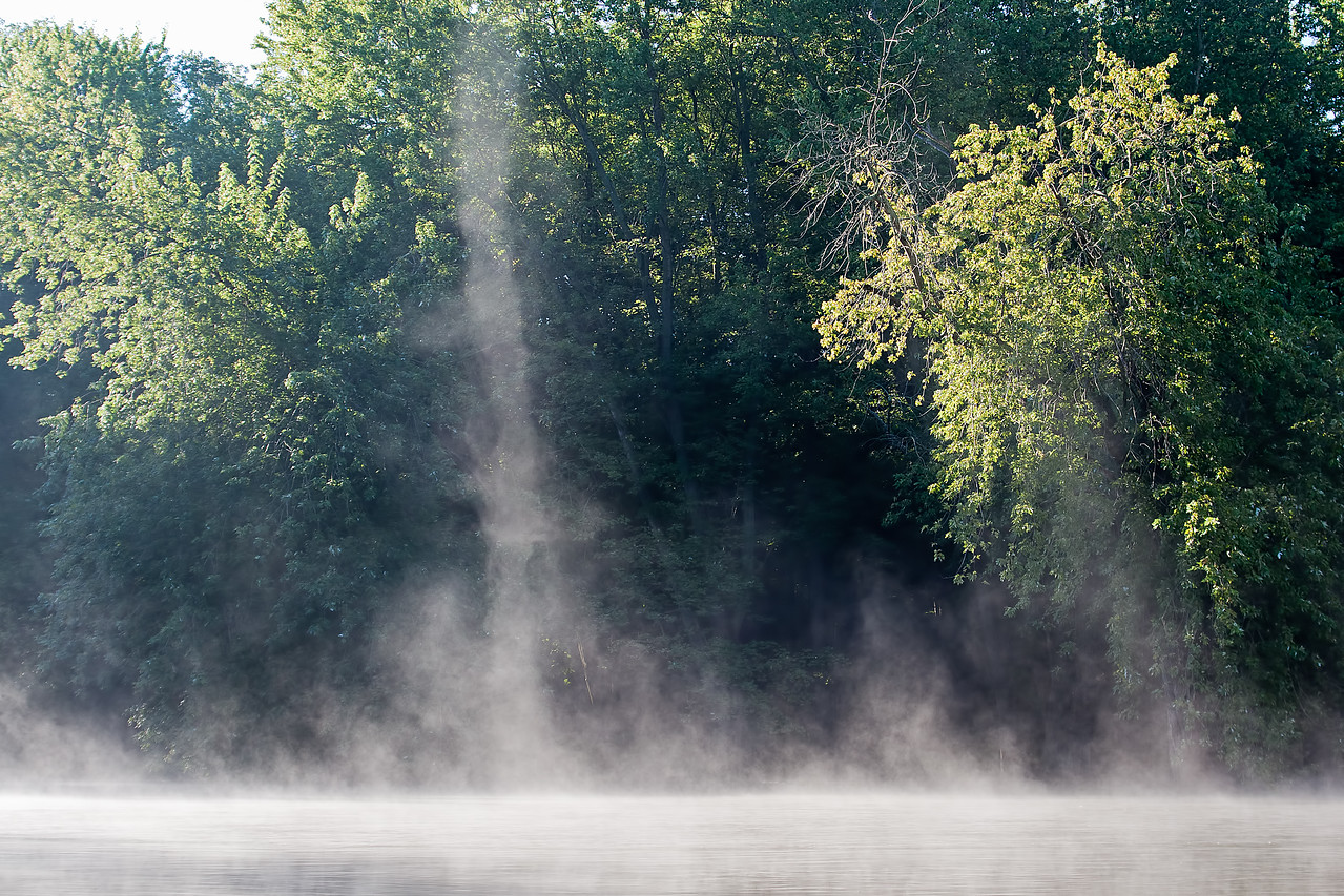 September 14th - More steam devils on the Sangamon River