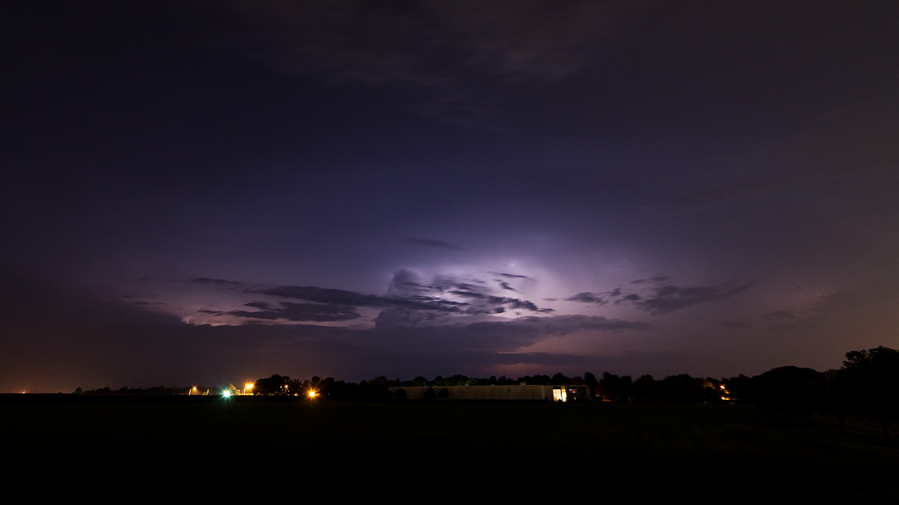 July 16, 2015 - Decatur, IL (storm over northern Dewitt county)