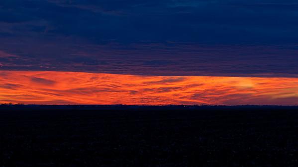 January 19, 2015 - Macon County, IL (clouds over MO/KS)