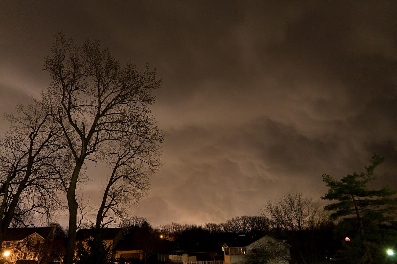 April 8, 2015 - Decatur, IL (behind a passing shelf cloud)