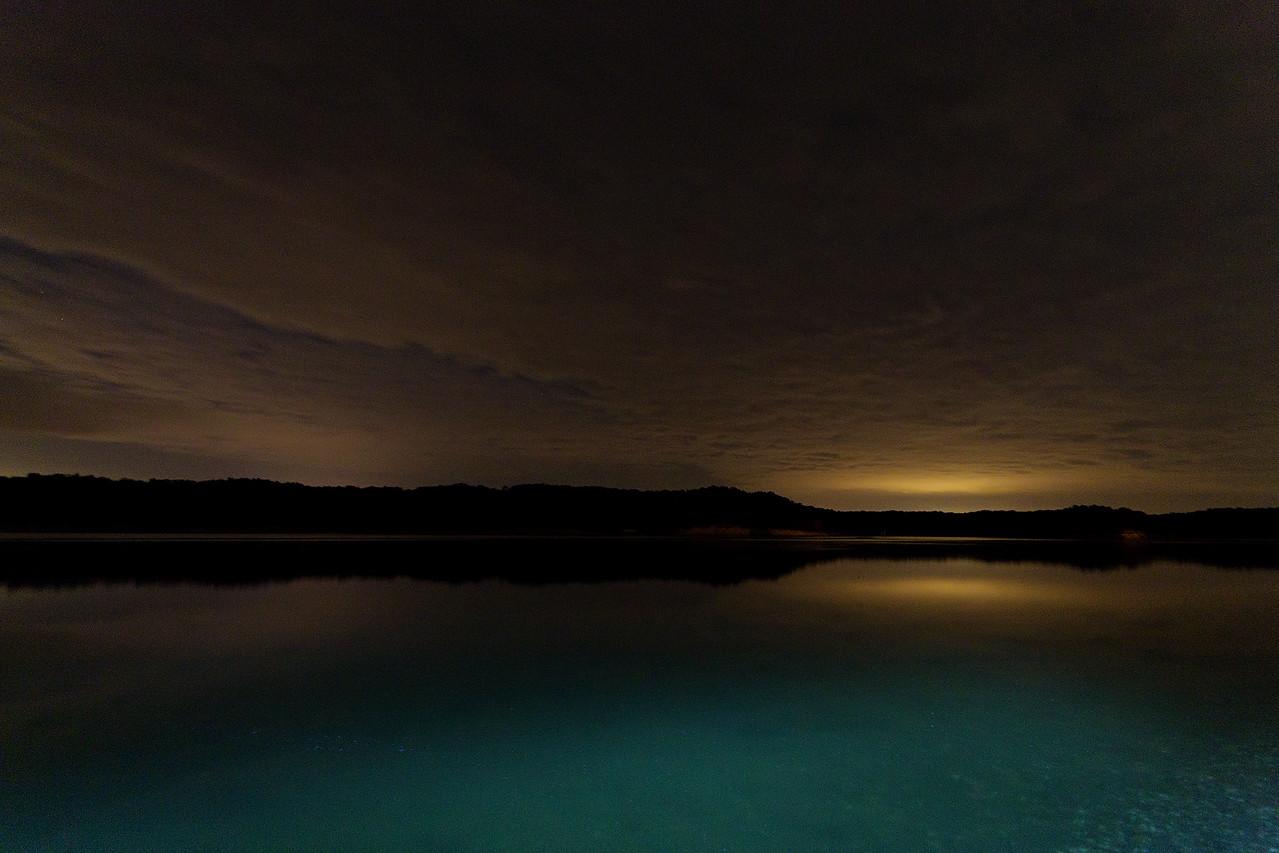 September 27, 2015 - Lake Shelbyville, Shelbyville, IL (lunar eclipse cloud bust)