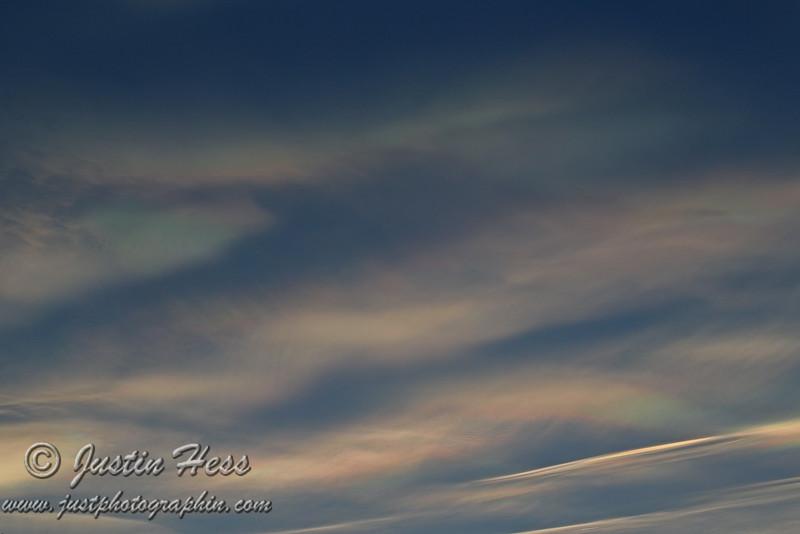 Iridescent Sunset