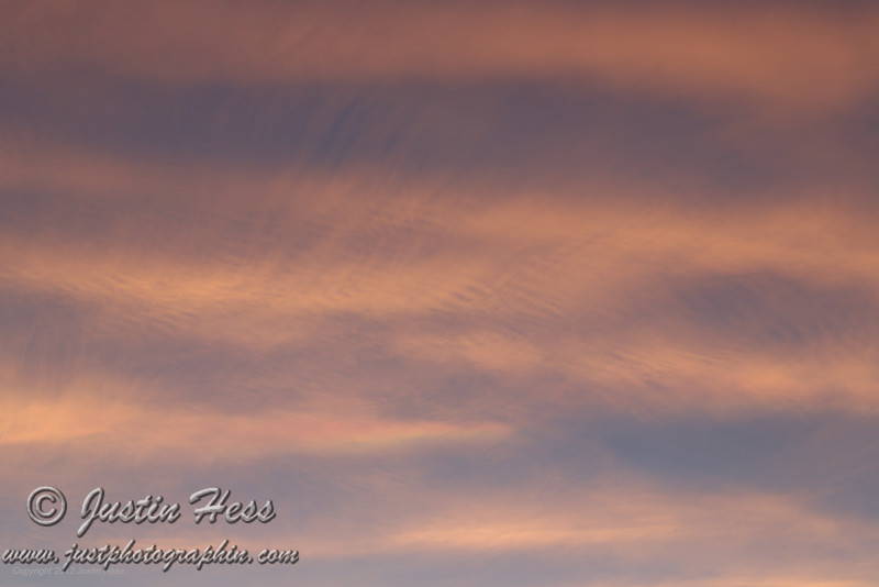 Sunset Brush Strokes