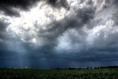 Incoming Storm - Rockford, IL 6.23.13