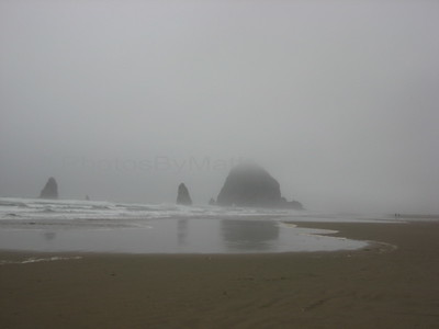 Foggy Day at Canon Beach, OR