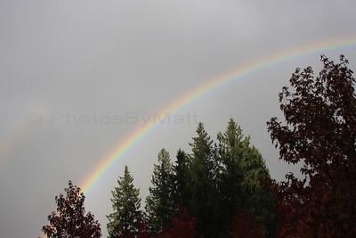 Double Rainbow in Lynnwood, WA