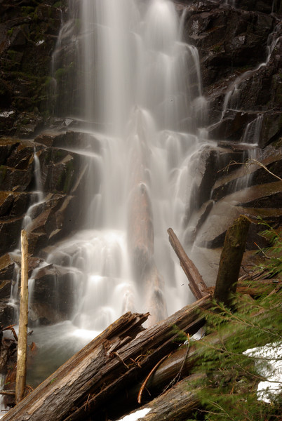 Ranger Falls. Mt Rainier National Park