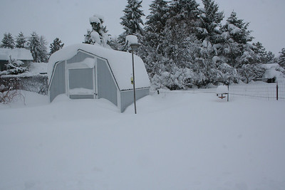 We had a second large storm on Sat. Dec 27th.  Which added even more snow.