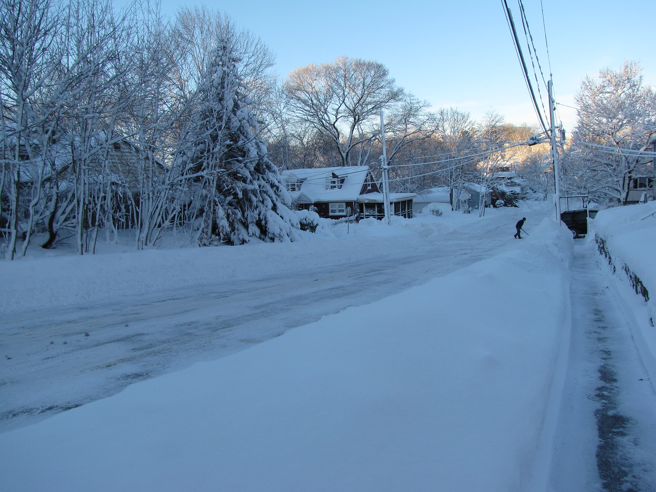 January 11, 2011 - 15 inches