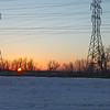 Sunrise along the interstate, I-240.  Feb 10th.