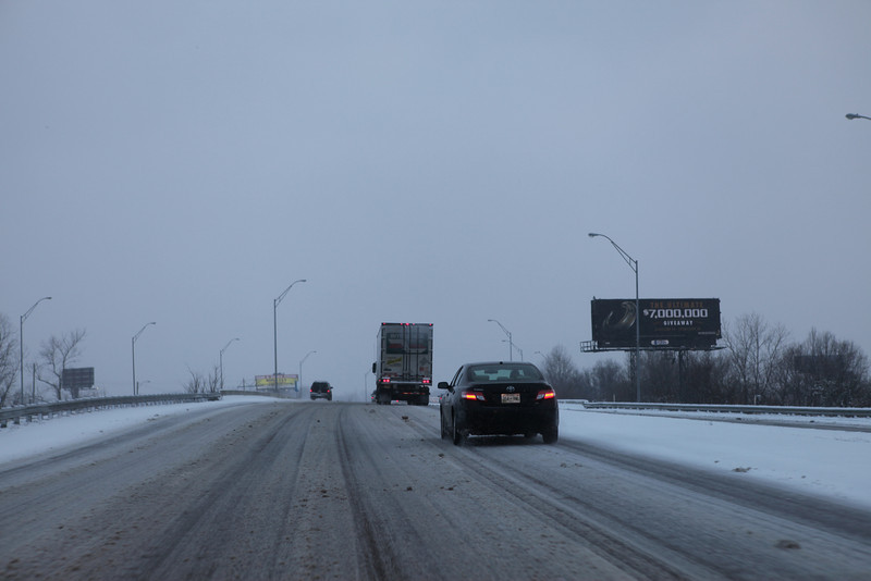 I-240 south leg about 4:30pm on Feb 9th.