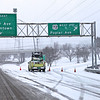 "Exit onto Poplar from I-240, Poplar west was closed.  Picture was taken about 5:00pm on Feb 9th as the snow was falling.  This picture made WMCTV's (channel 5) top story 2/10/11.   Read the full story here: <a href=""http://www.wmctv.com/Global/story.asp?S=14002184"">http://www.wmctv.com/Global/story.asp?S=14002184</a>"