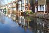 Flooding in Helen Ave,Feltham 1st Feb 2014