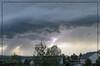 My first ever captured lightning strike
