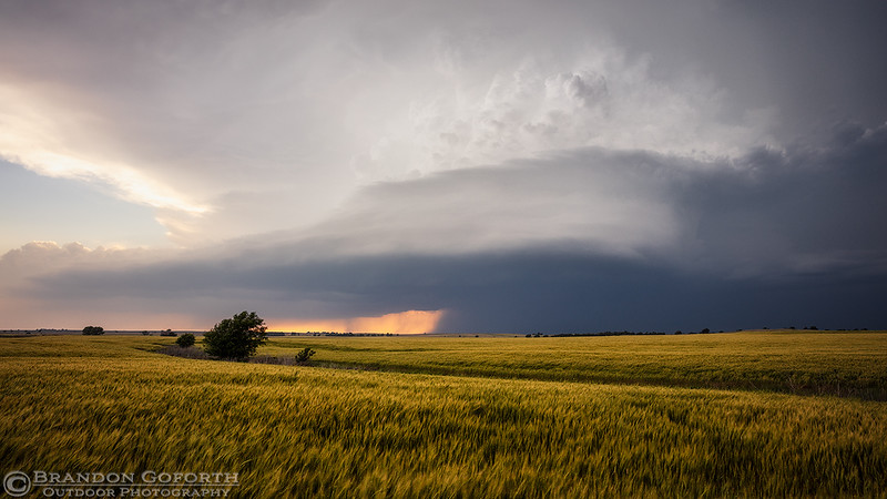 Coldwater, KS Supercell 5-26-2016
