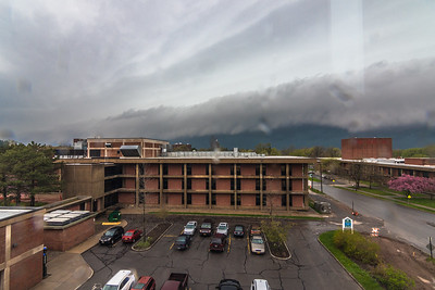 Gust front approaching Brockport