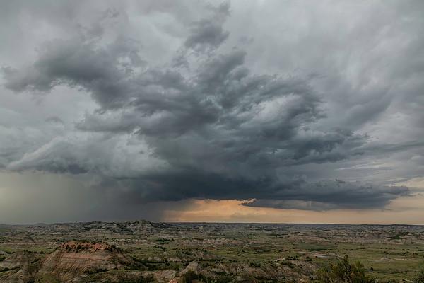 Supercell | Theodore Rosevelt National Park