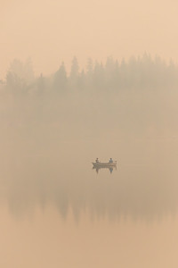 Smokey Fishing Ness Lake