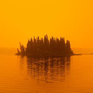 Ness Lake Apocalyptic Sky