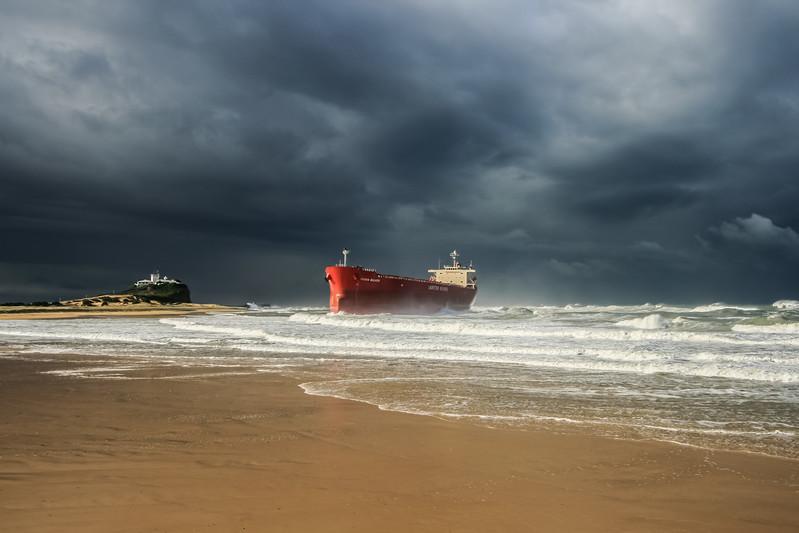 Shipwrecked Supertanker