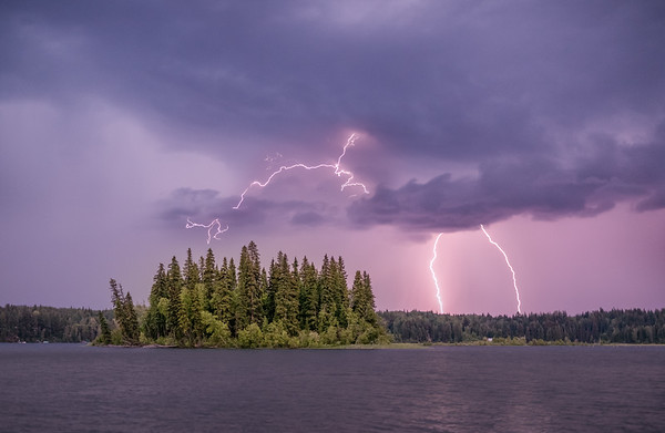 Ness Lake Lightning