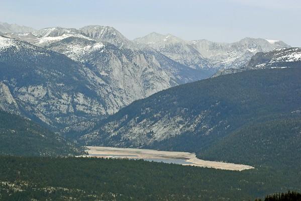 Lake Edison from Kaiser Ridge