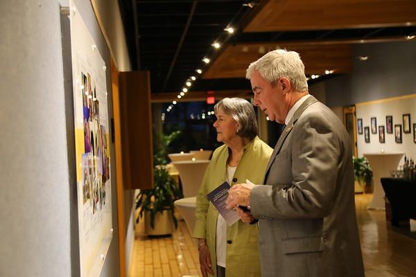 J. Wayne & Delores Barr Weaver Gallery Dedication