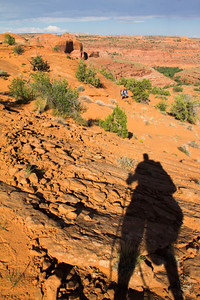The Pack In hike from the Egypt Trail head with Excursions of Escalante.