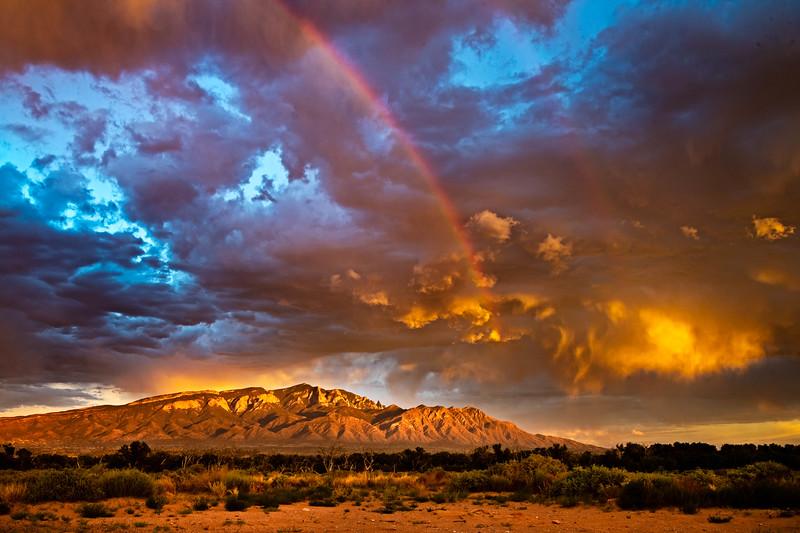 Rainbow Over Sandias