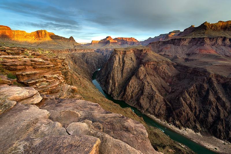 Grand Canyon National Park, Tonto Dawn