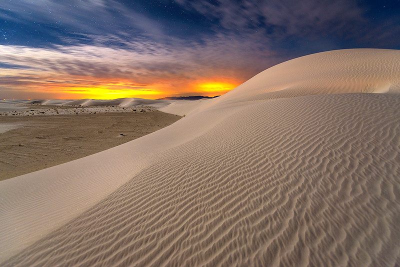 White Sands National Park, Las Cruces Nightlight