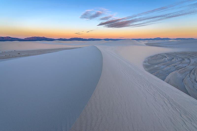 White Sands National Park, Curves