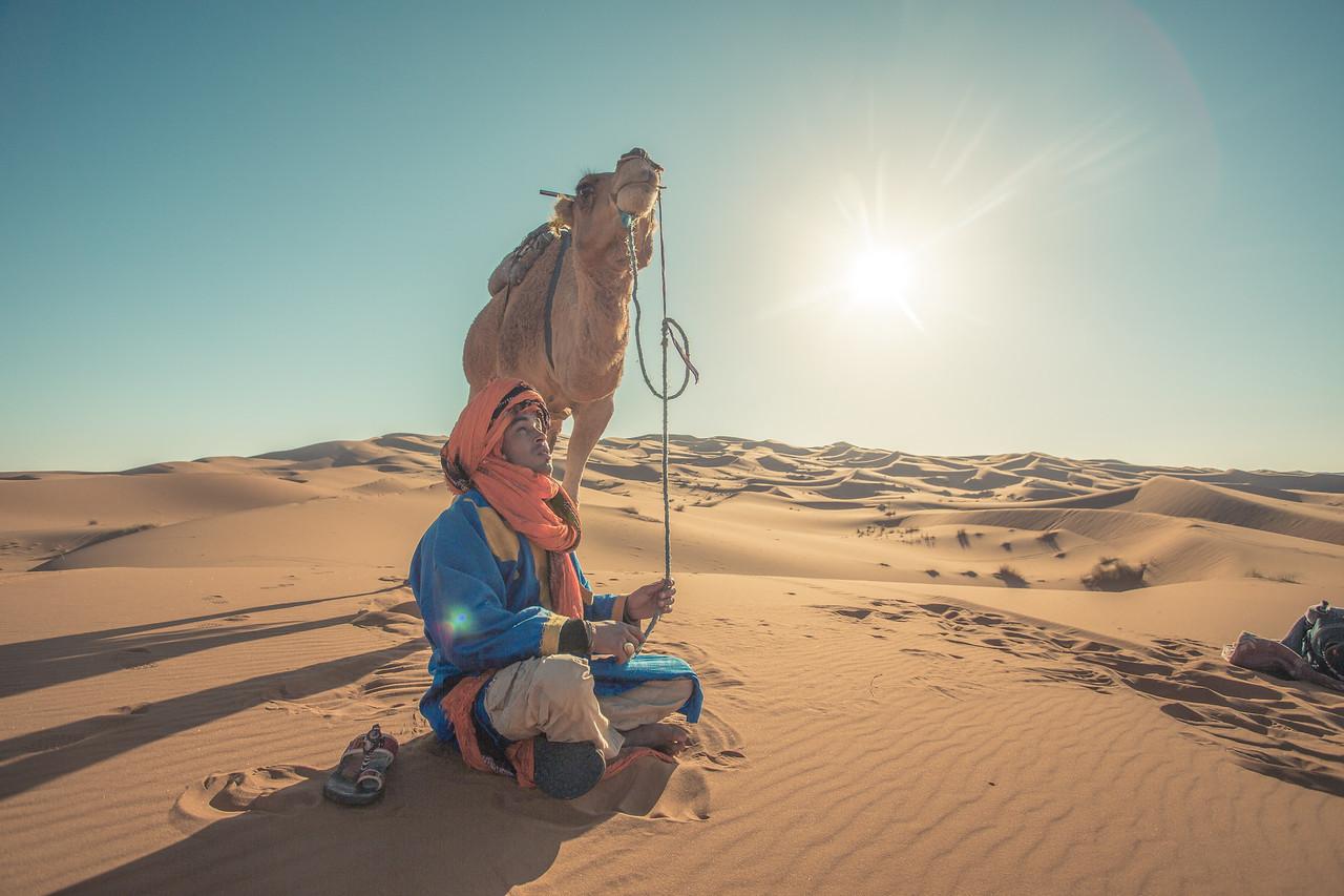 Hammid in the dunes
